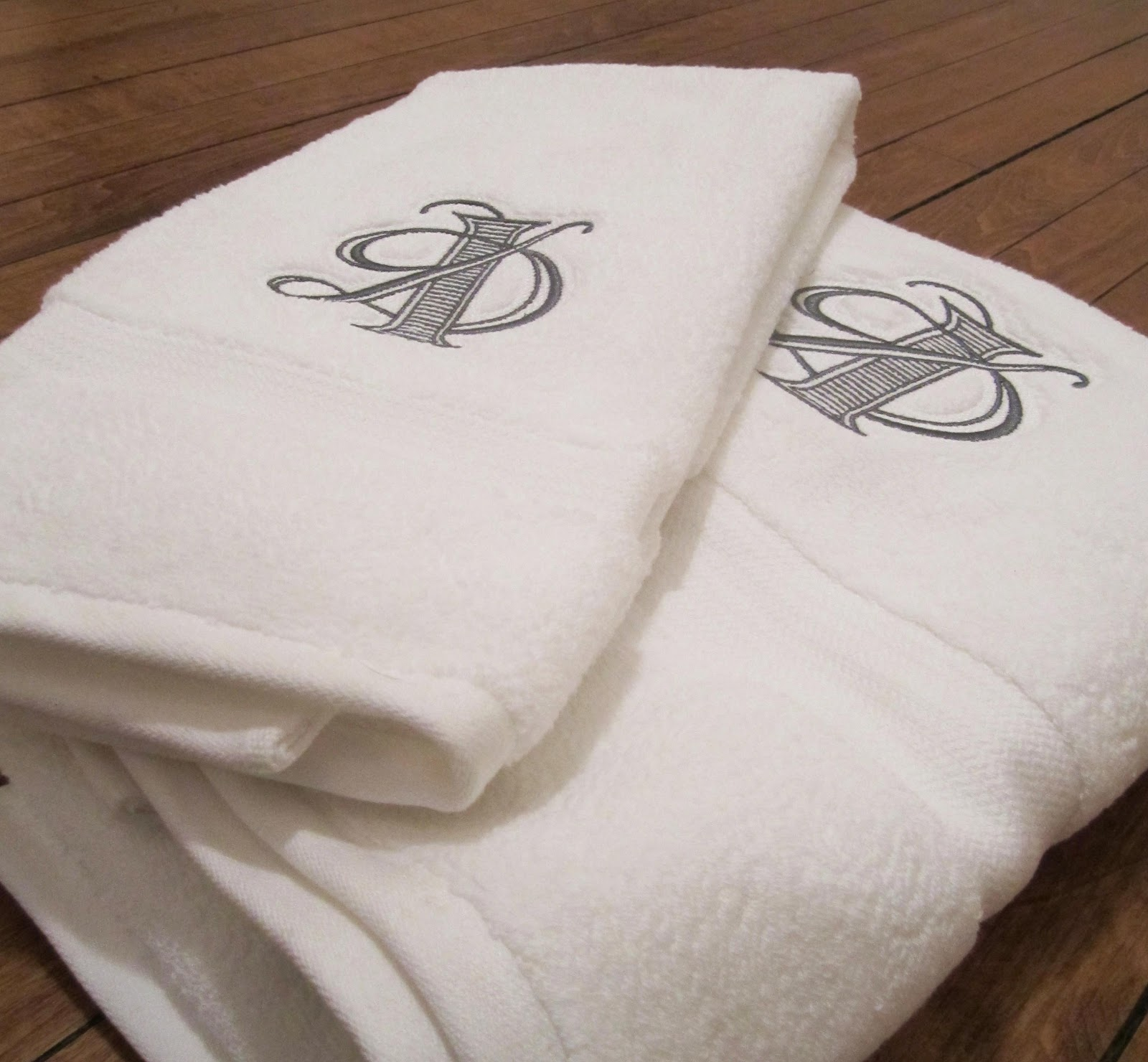 Embroidered Towel 3