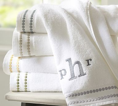 Embroidered Towel 4